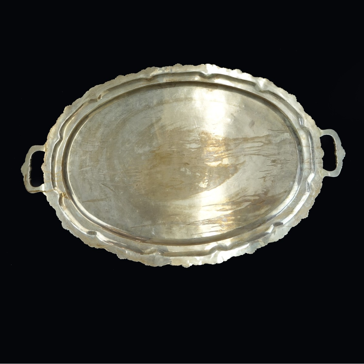 Large Mexican Sterling Silver Tray