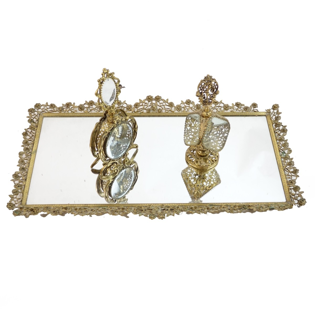 Antique French Vanity Set