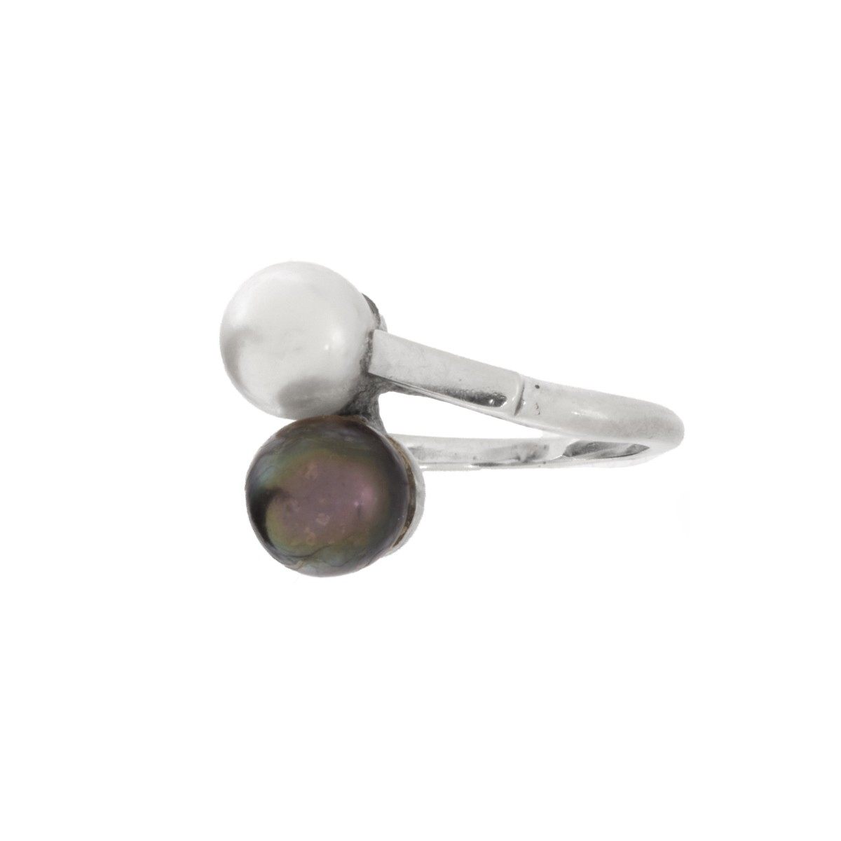 Pearl and 14K Ring