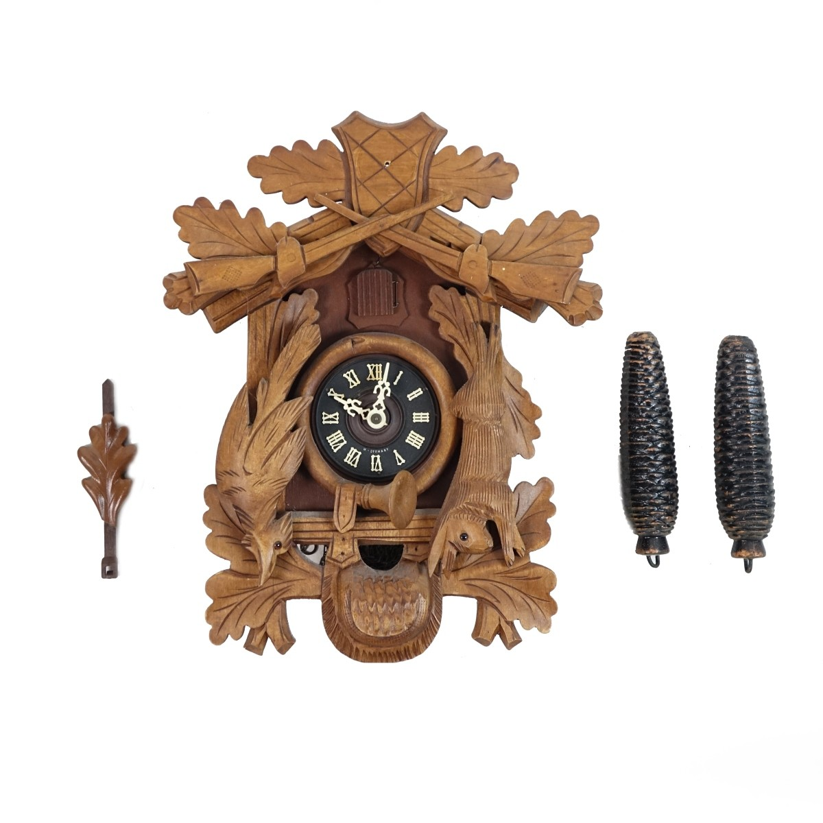 Vintage Black Forest Clock