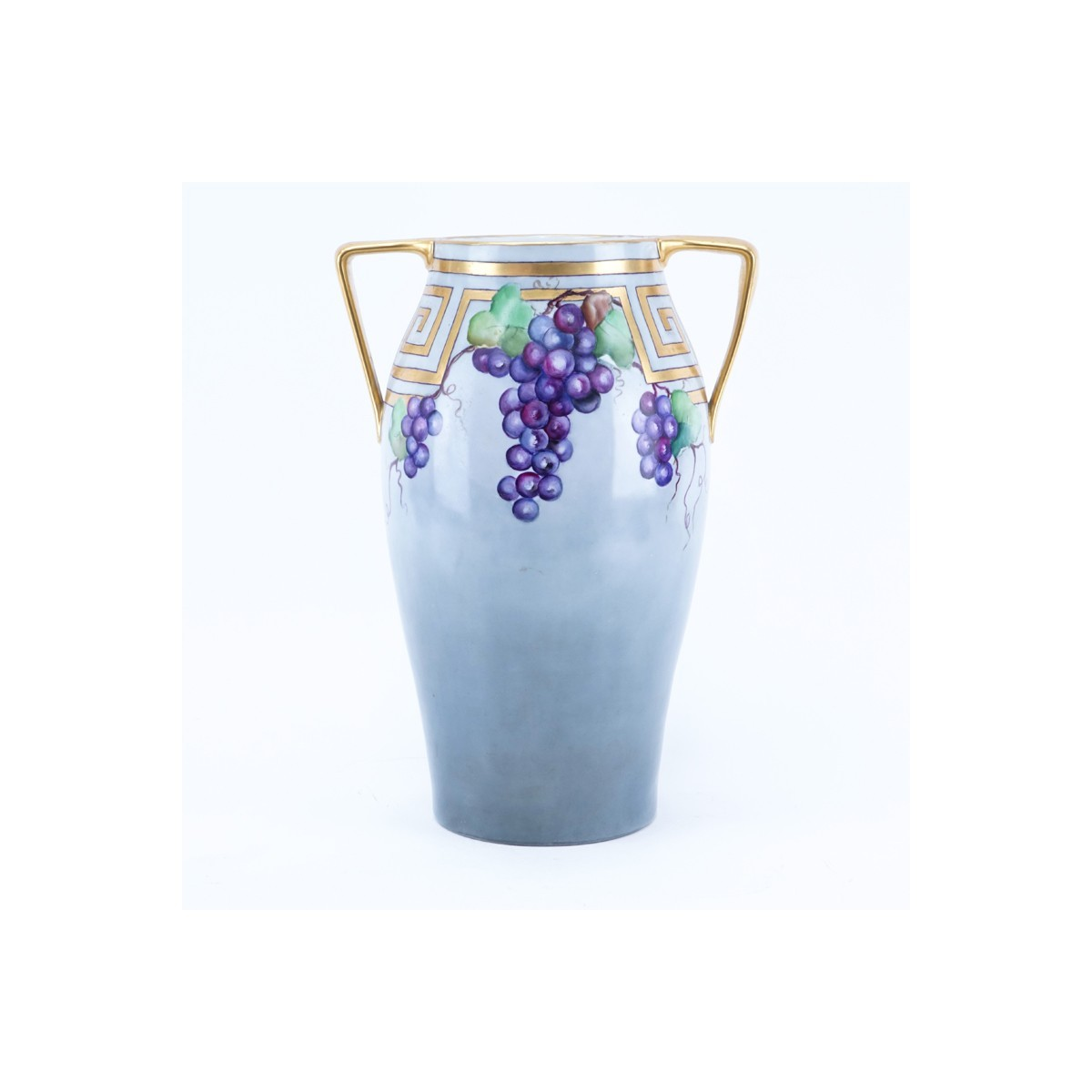 Lg T&V Limoges France Porcelain Blum Vase