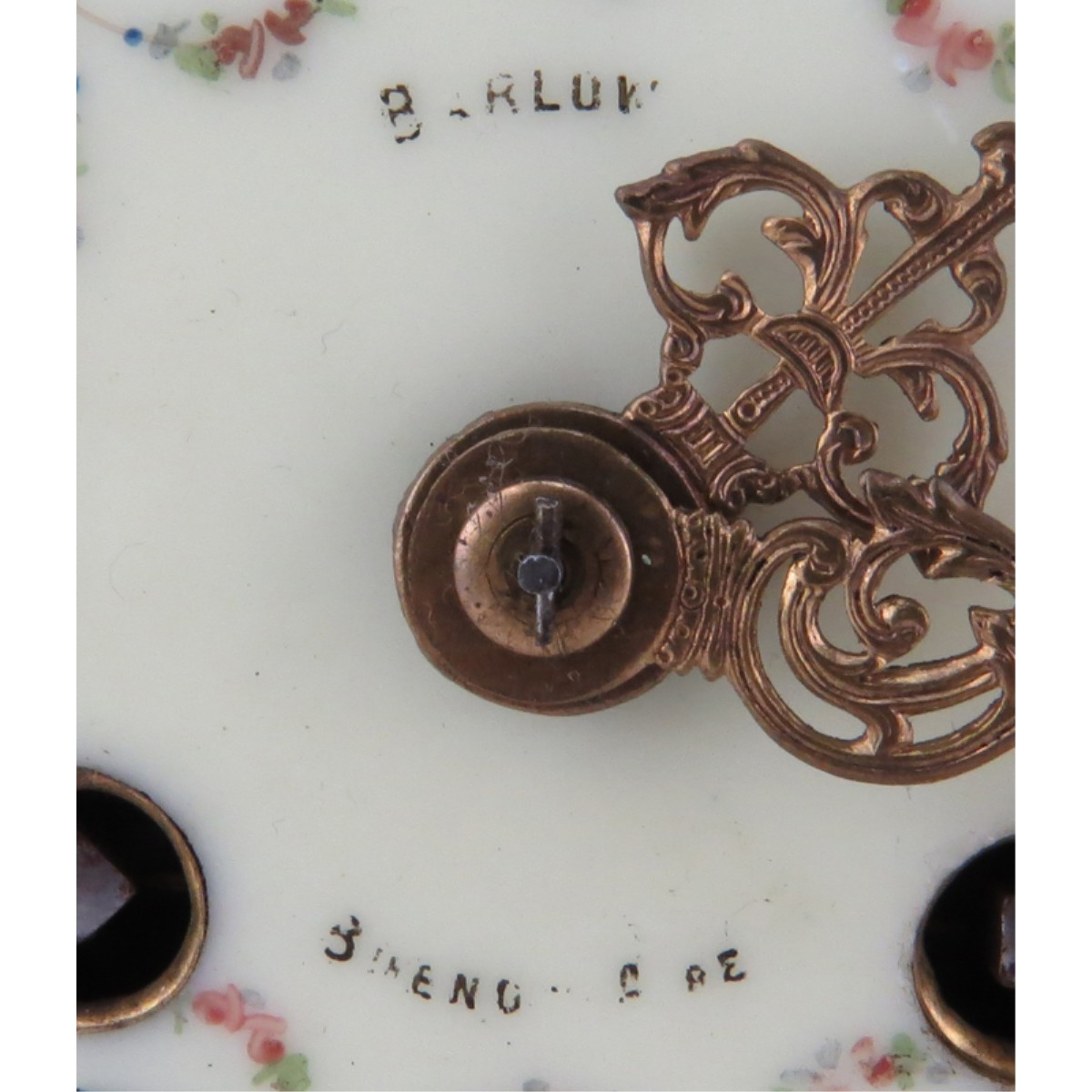 Antique Sevres Style Mantel Clock