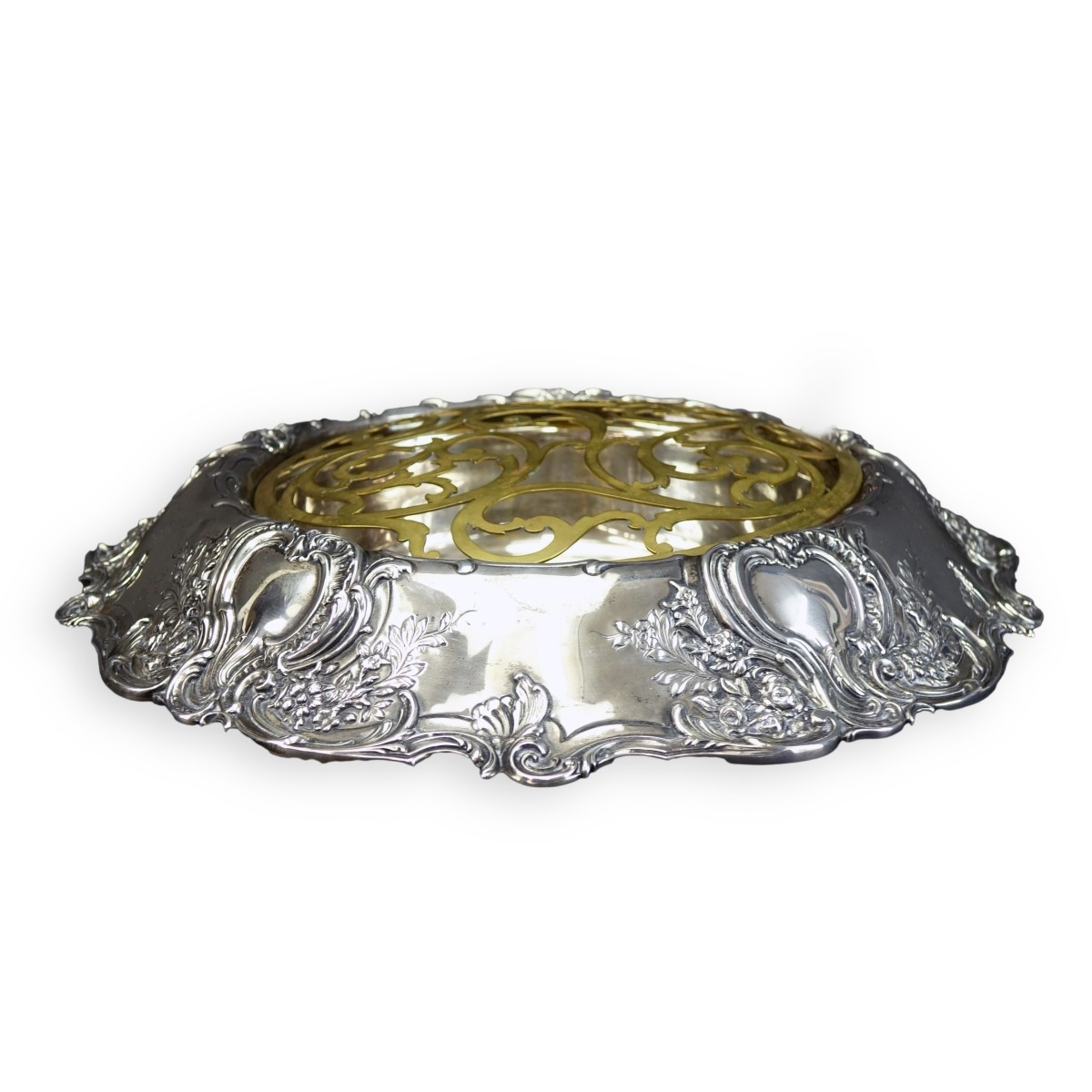 Tiffany Sterling Centerpiece Bowl with Frog