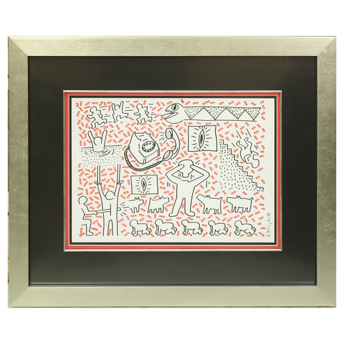 After: Keith Haring, American (1958-1990)