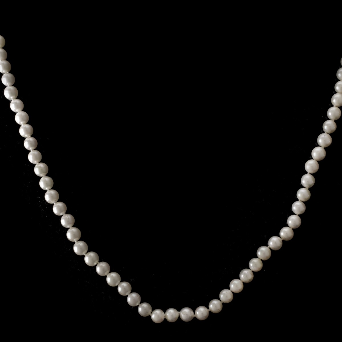 Pearl and 14K Necklace