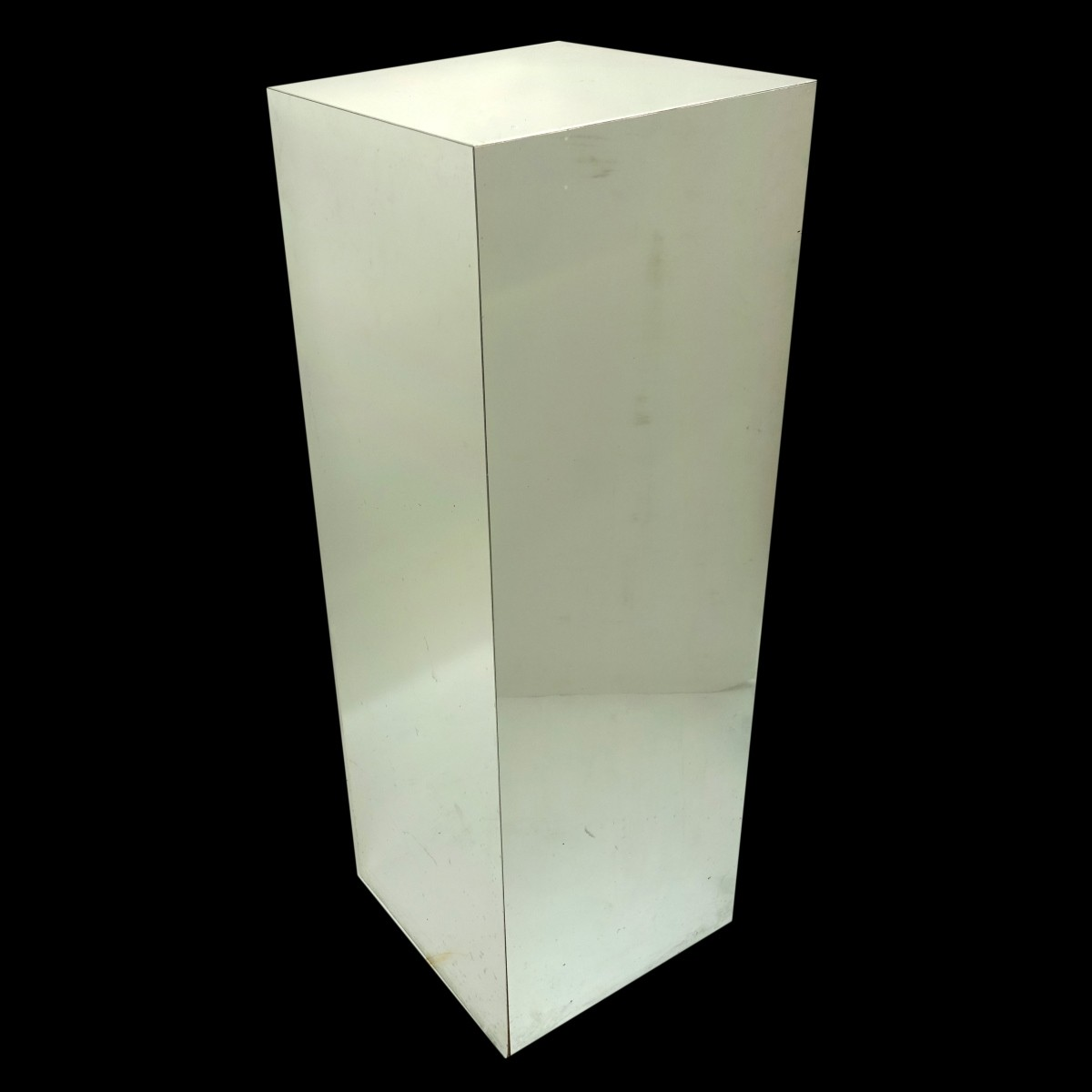 Silver Laminate Display Pedestal
