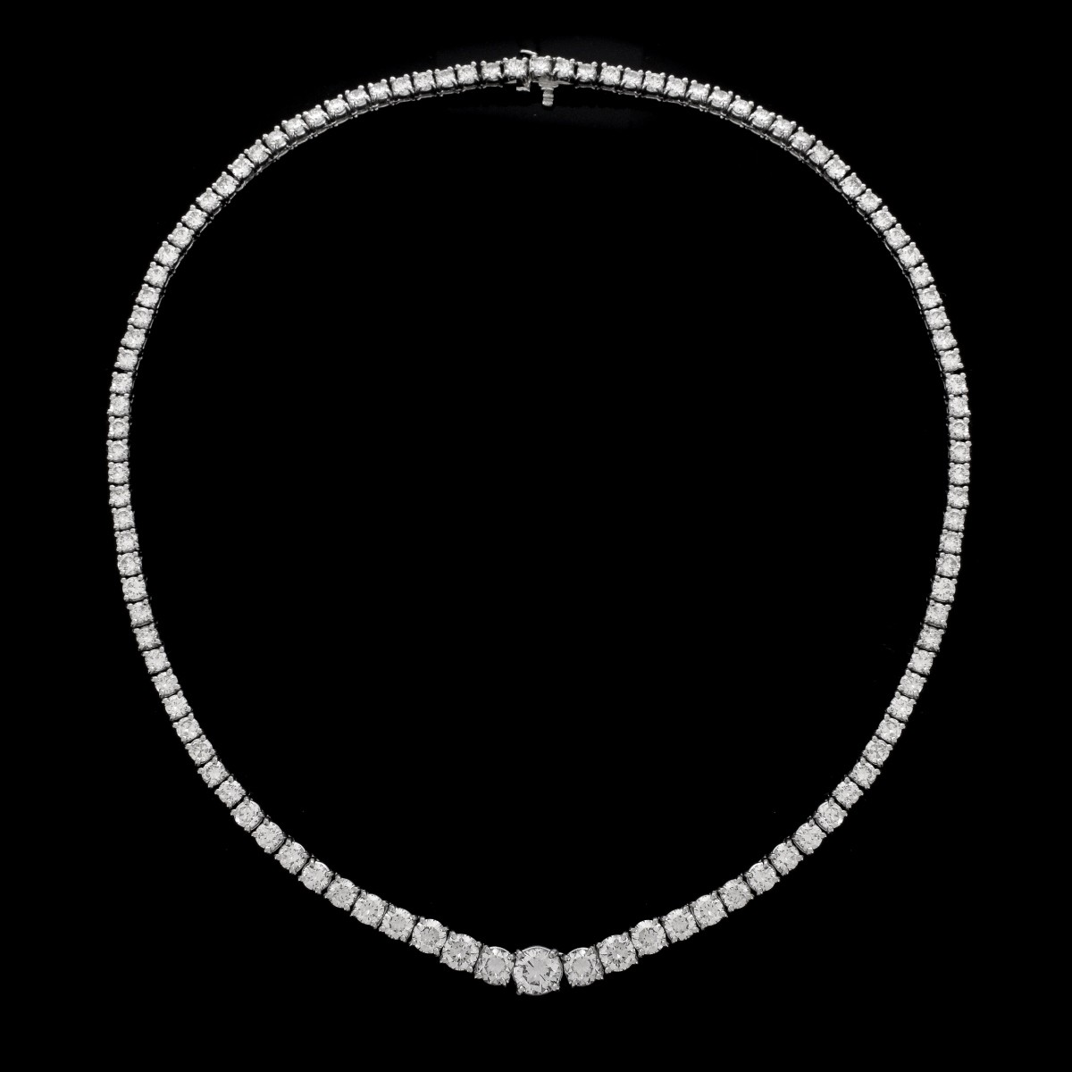 Vintage Diamond and Platinum Necklace