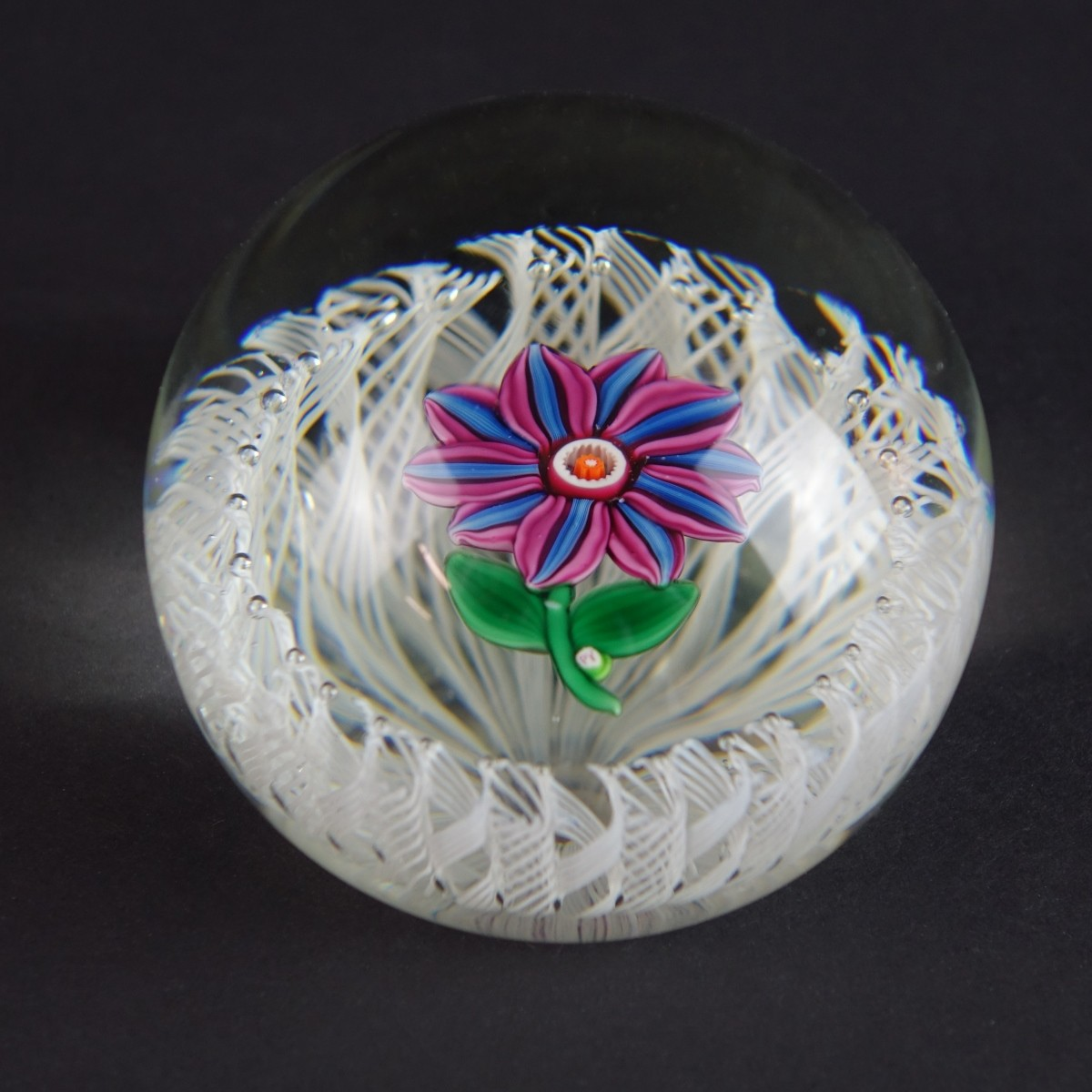 Paul Ysart Art Glass Paperweight