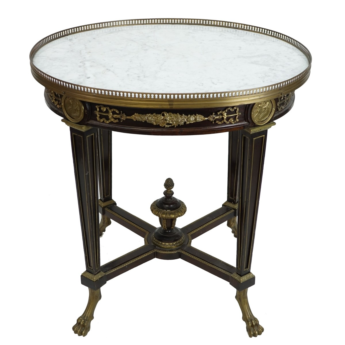 19/20th C. Louis XVI Style Side Table