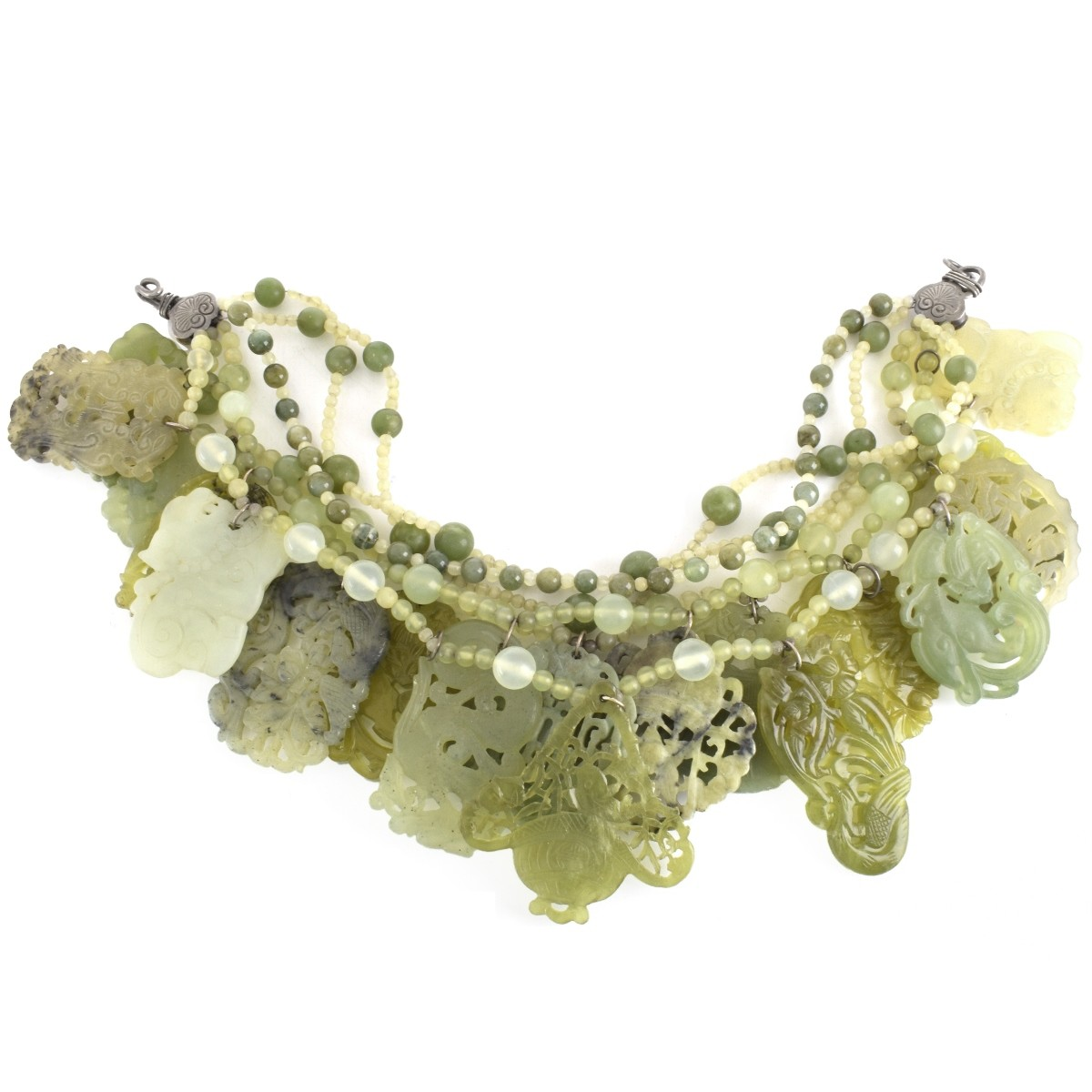 Stephen Dweck Jade Necklace