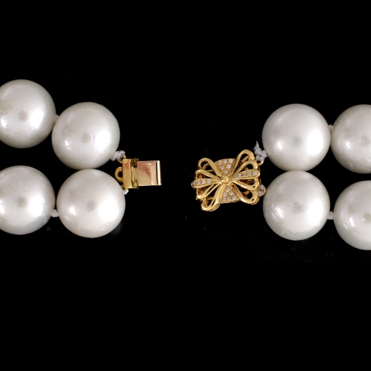 South Sea Pearl and 18K Necklace