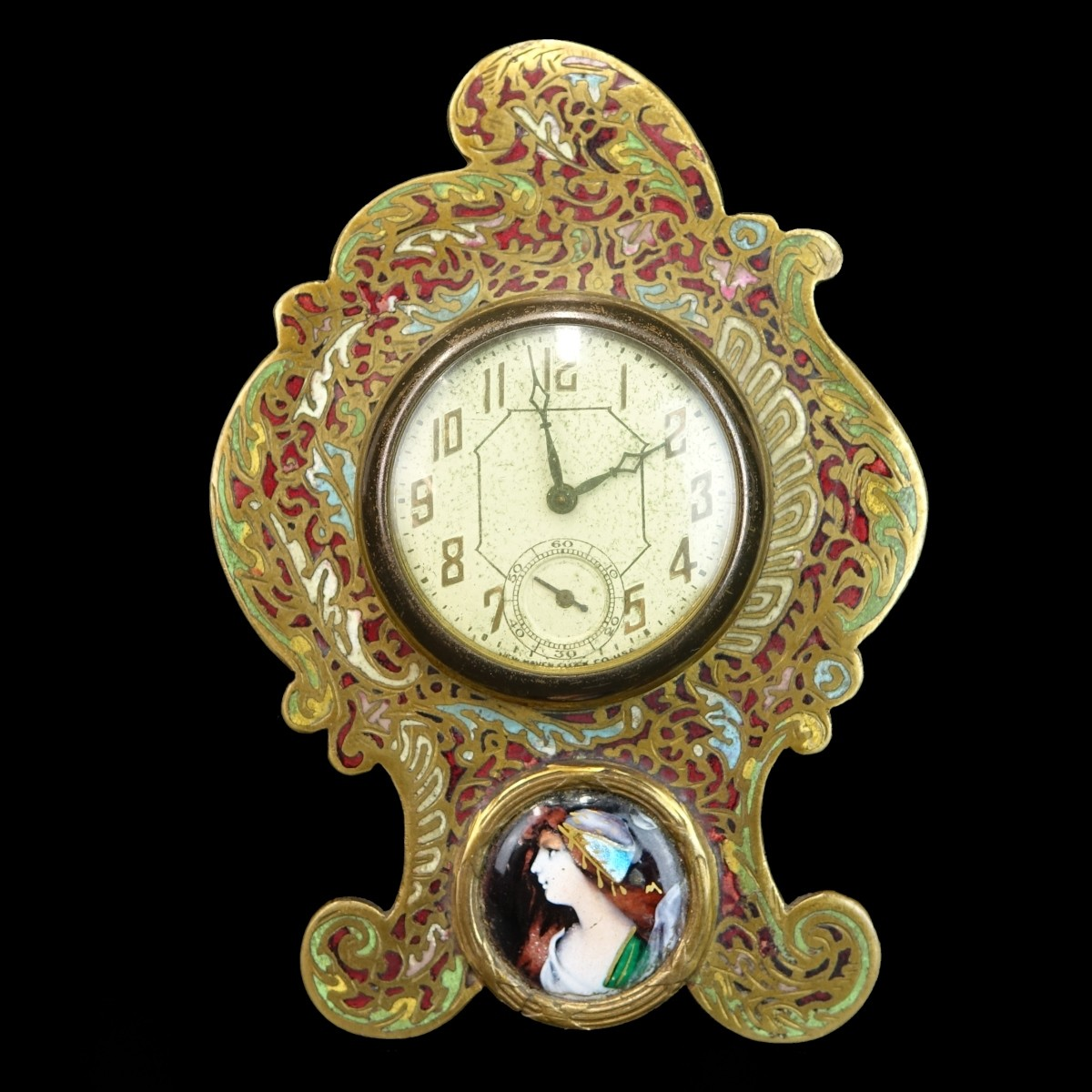 Antique French Miniature Clock