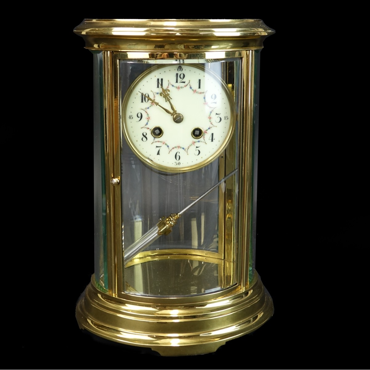 Antique French Regulator Clock