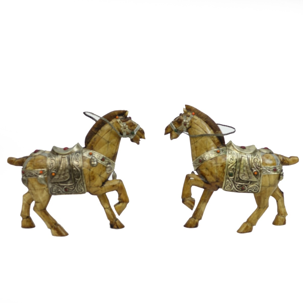 Pair of Chinese Tang Style Horses
