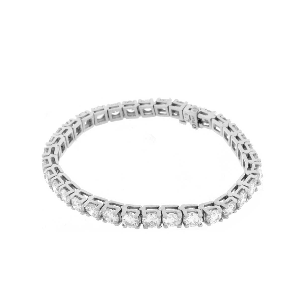 Diamond and Platinum Bracelet