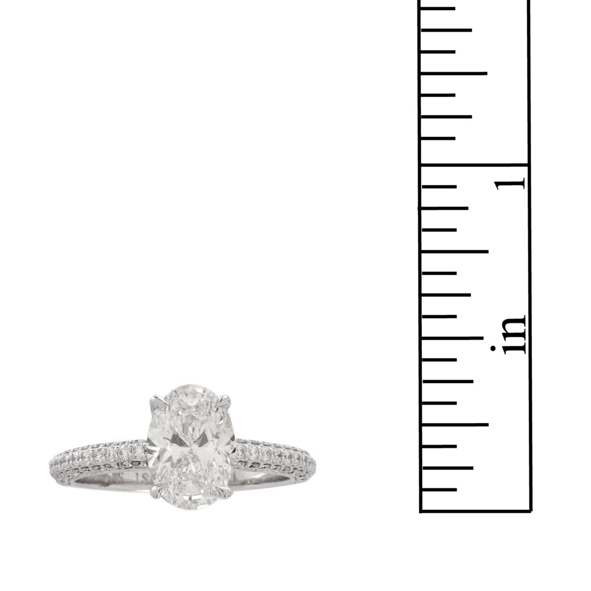GIA 1.51 Carat Diamond and 18K Ring