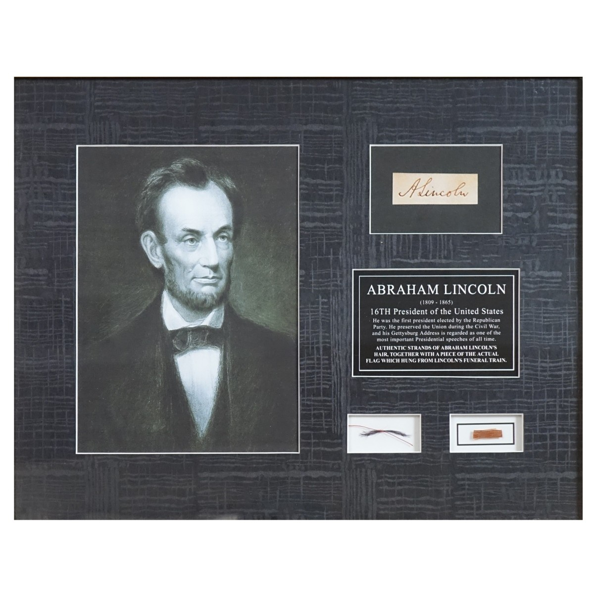 Abraham Lincoln (1809-1865) Artifacts