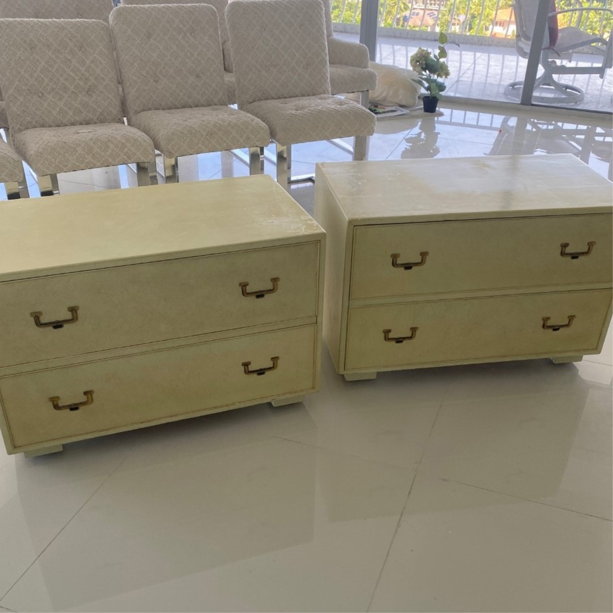 Pair of John Widdicomb Night Stands