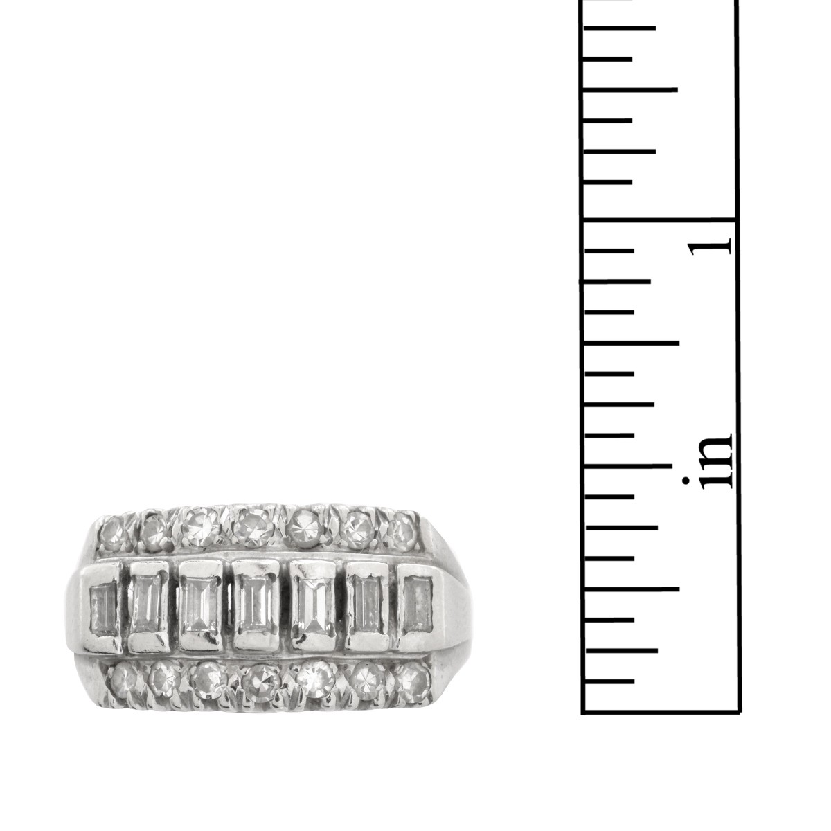 Diamond and 14K Ring