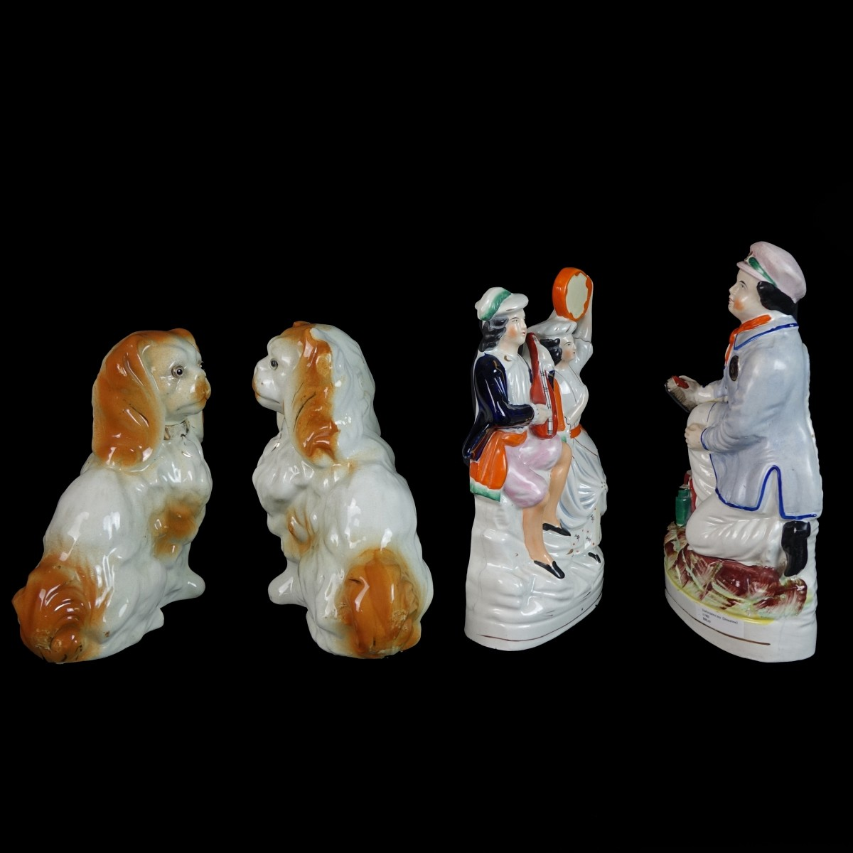 Four (4) Staffordshire Figurines