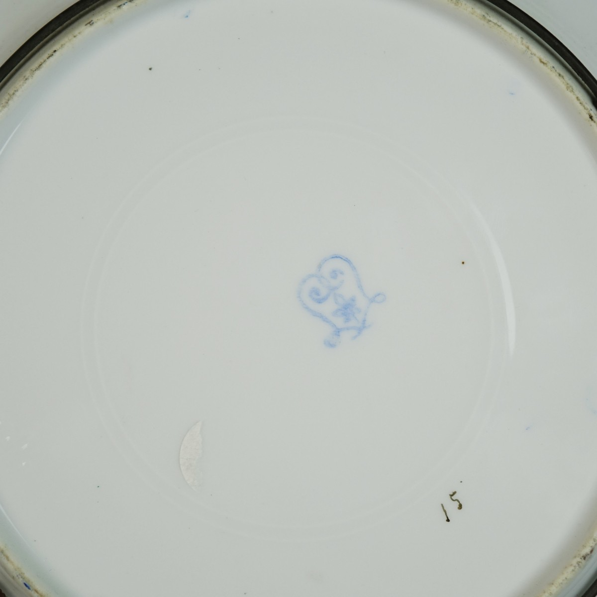 Pair of Sevres Style Plates