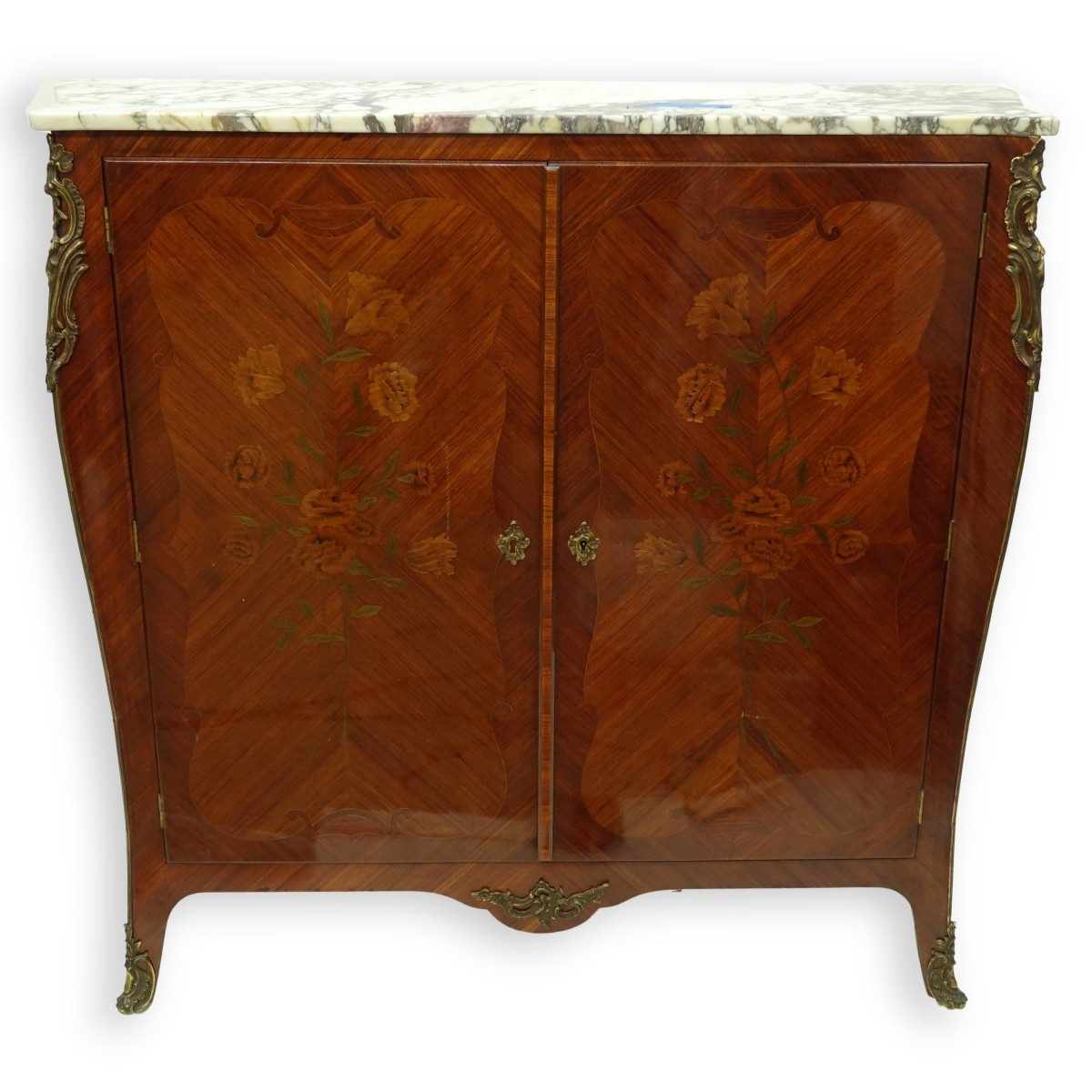 French Louis XV Style Mueble d'appui