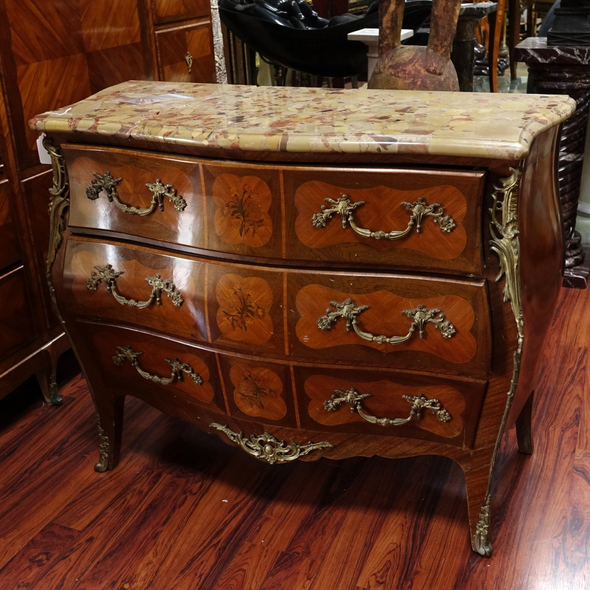 French Louis XV Style Commode