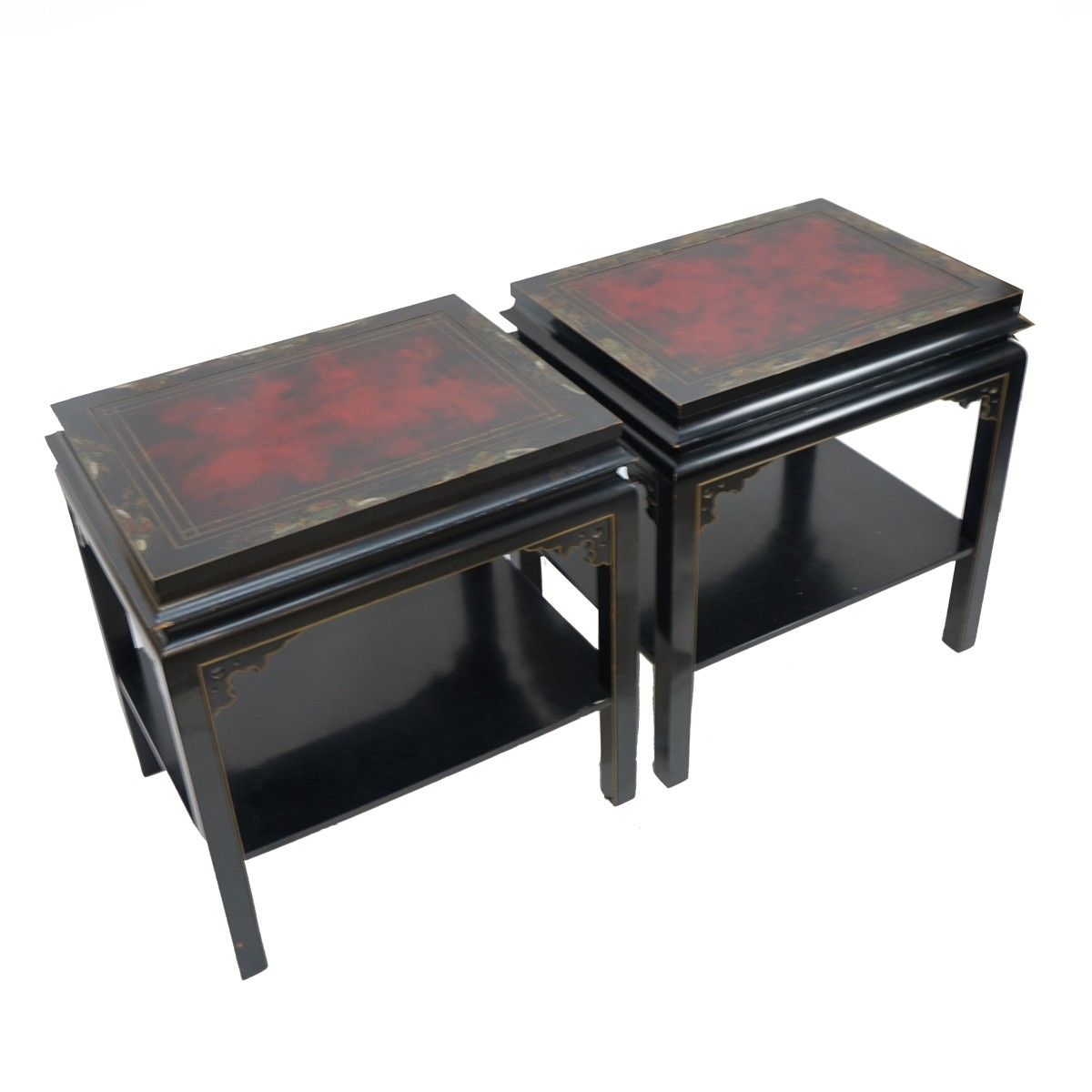 Pair of Chinese End Tables