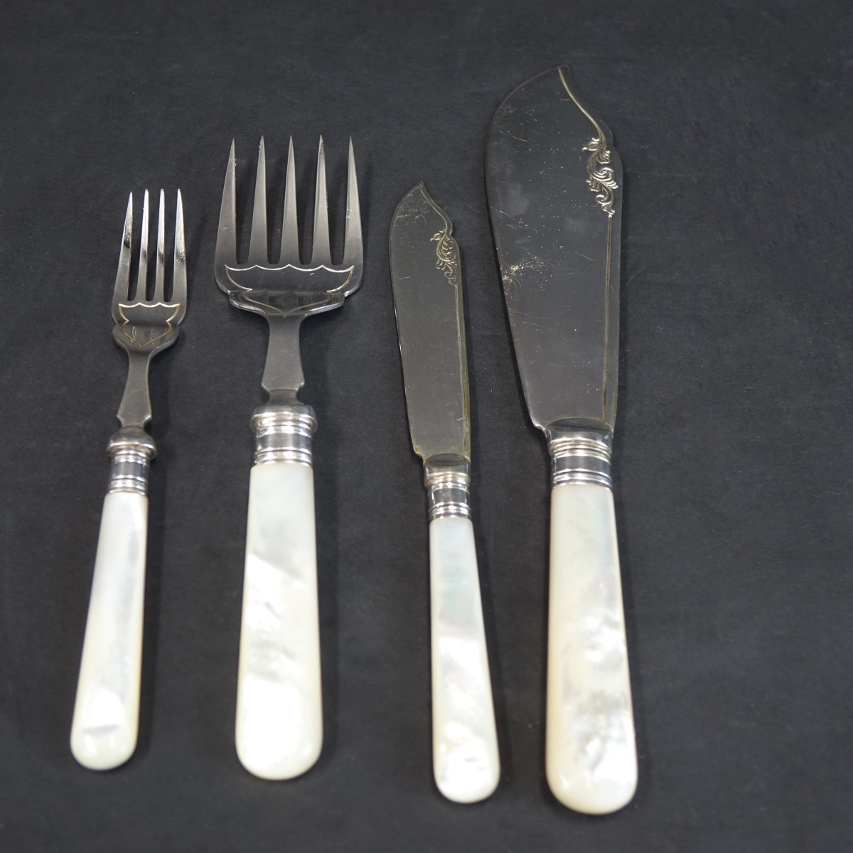 Henry Birks & Sons Fish Set