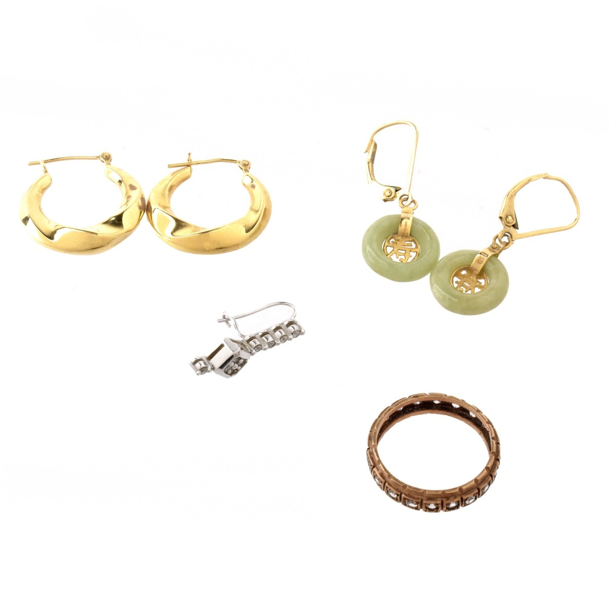 Misc. Gold Jewelry Lot
