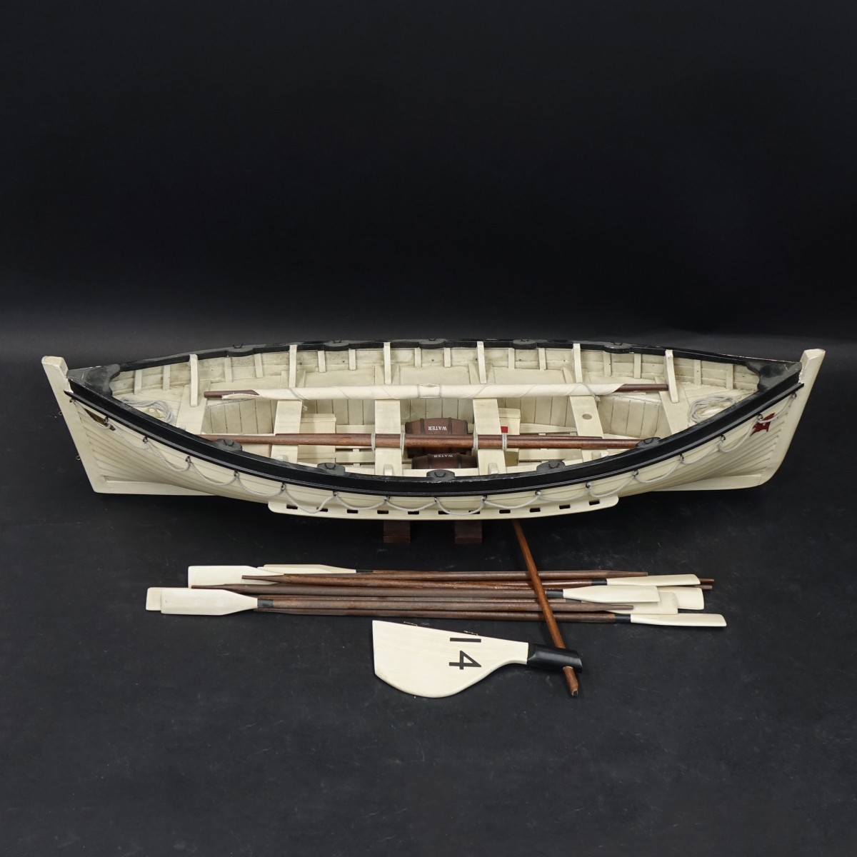 Liverpool #14 Model Row Boat