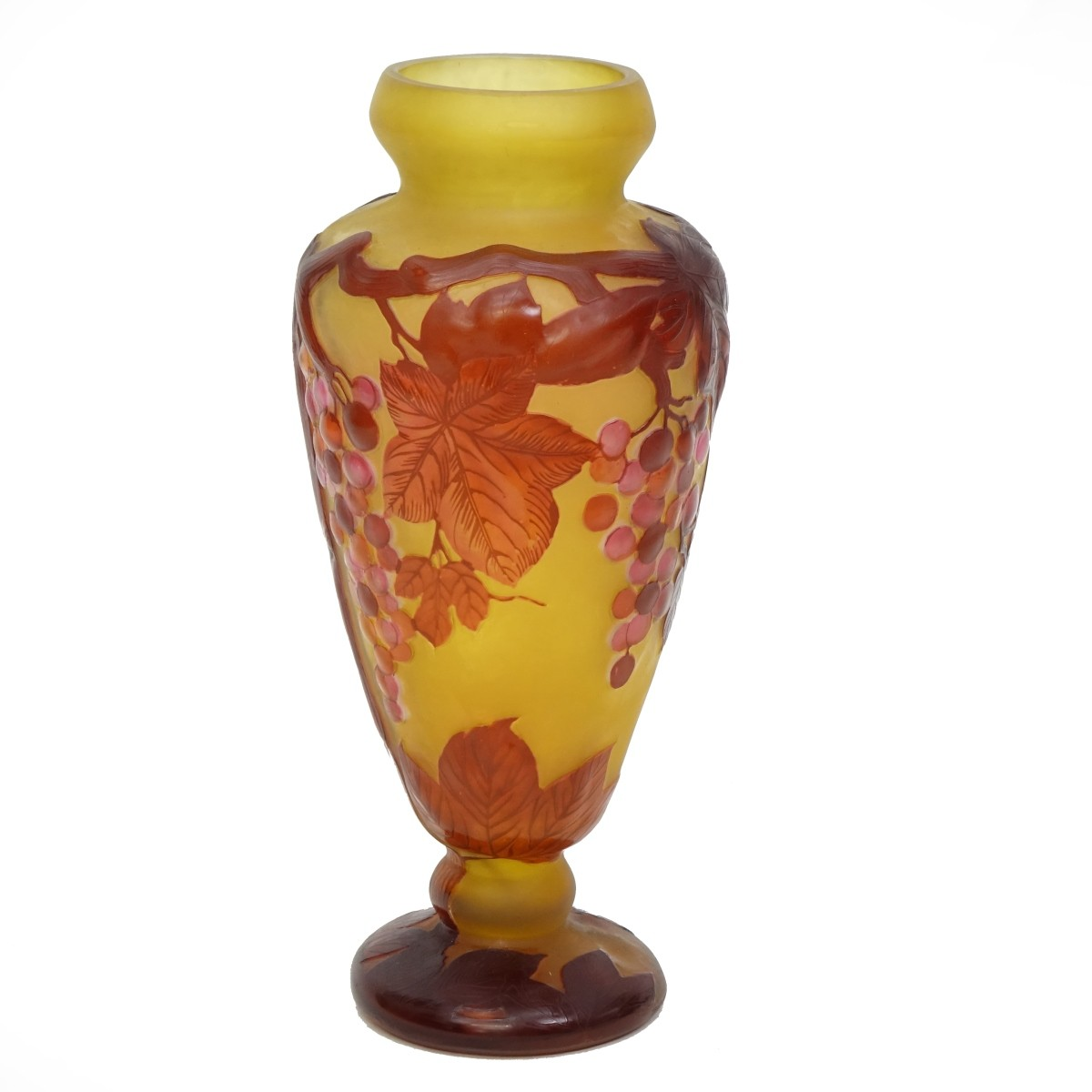 After: Galle Glass Vase