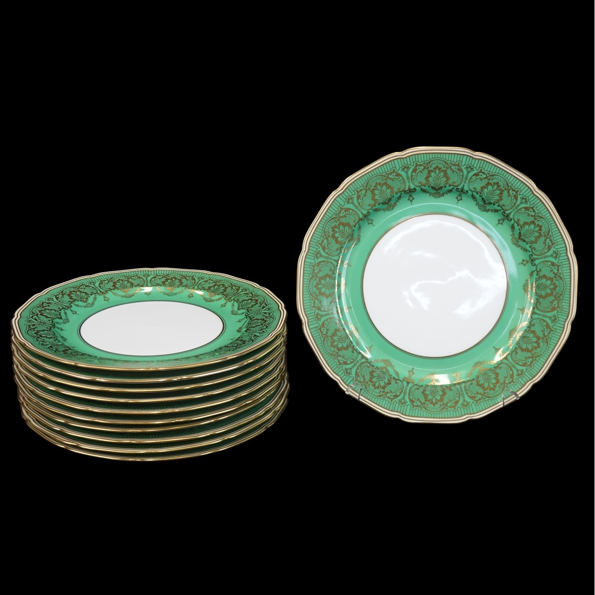 Eleven Dinner Plates