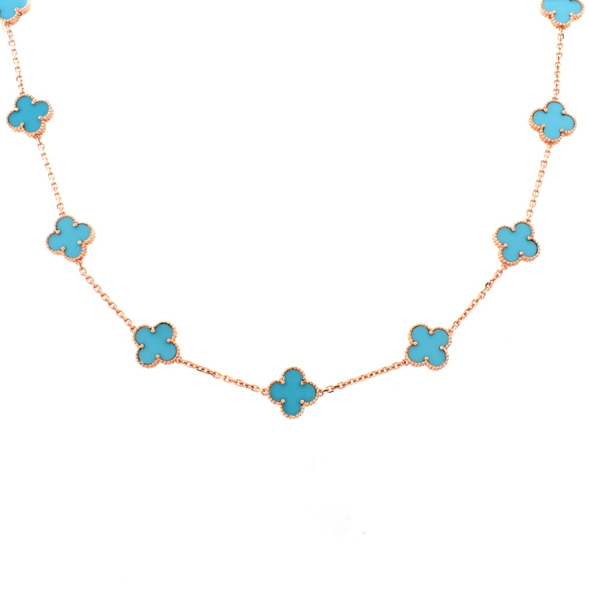 Van Cleef Replica Necklace