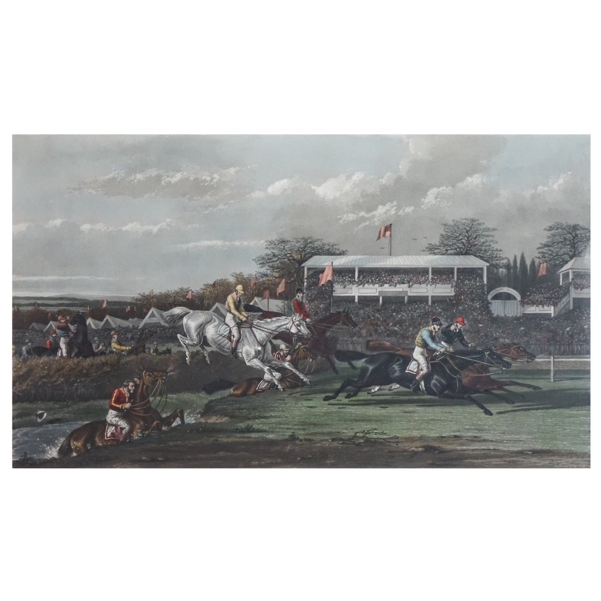 After: A. W. Neville (British) Lithograph