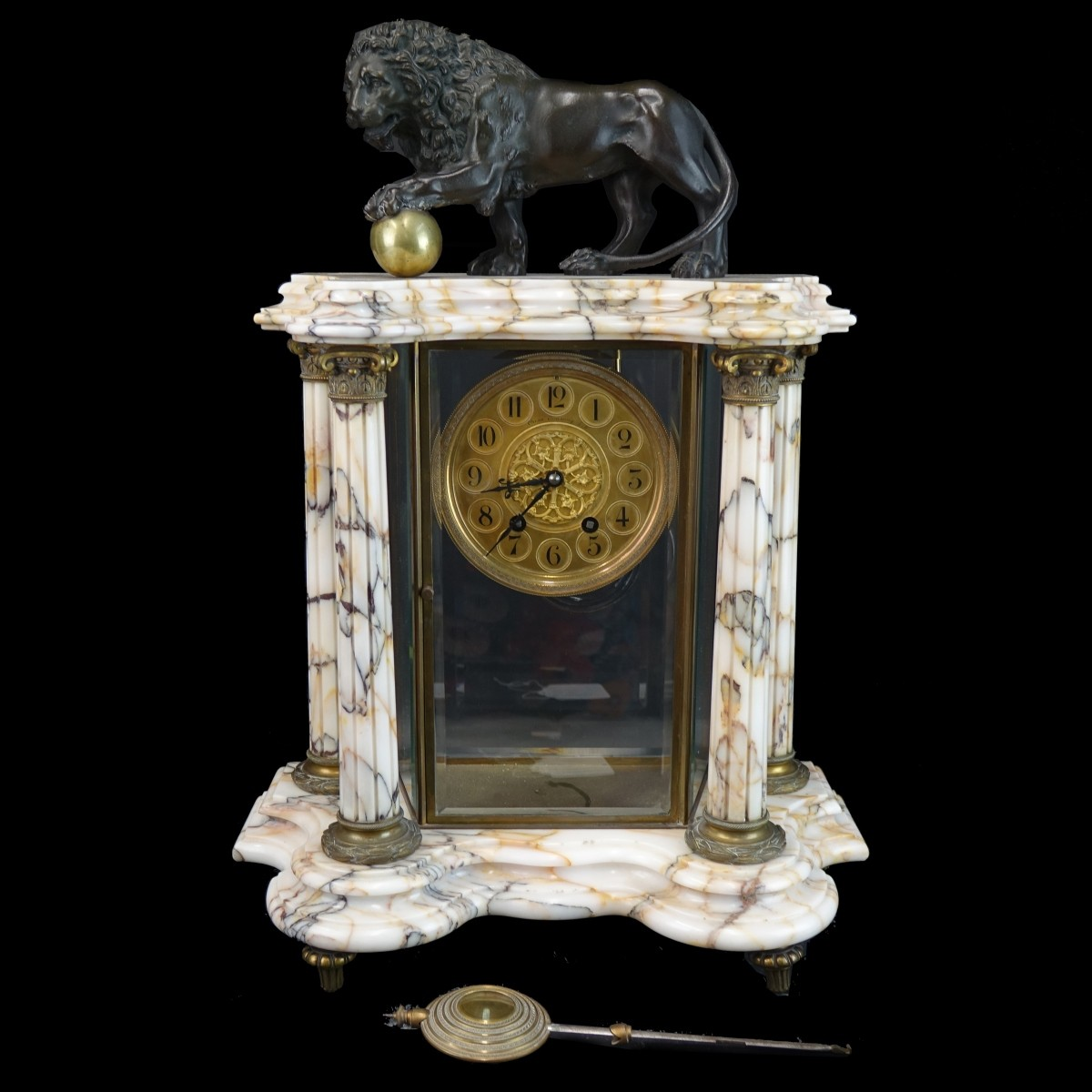 A.D. Mougin French Mantle Clock