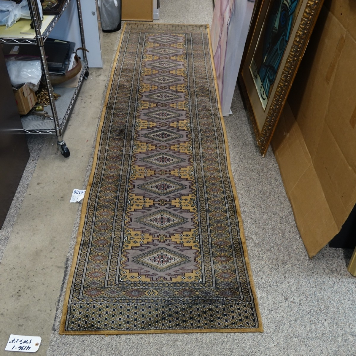 Semi Antique Persian Bokara Runner