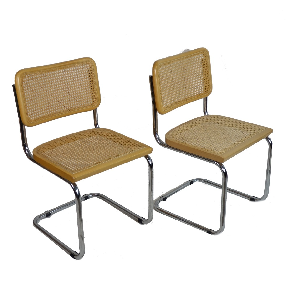 Pair of Italian Cesca Side Chairs