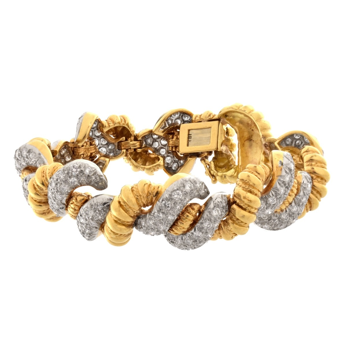 Diamond and 18K Bracelet