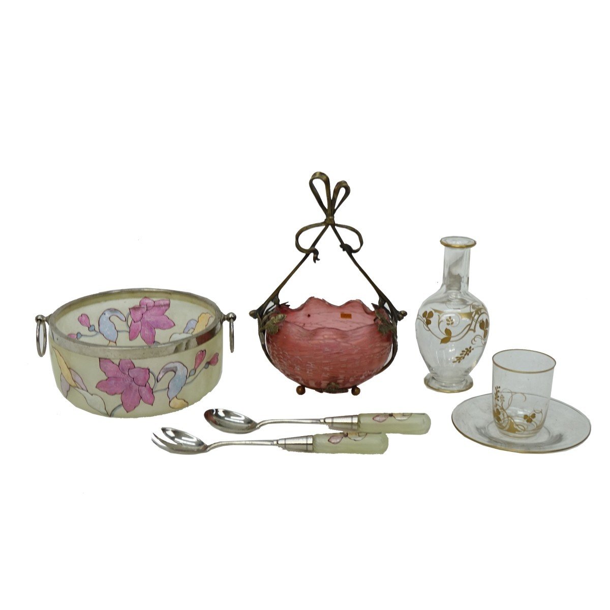 Victorian Glass Tableware