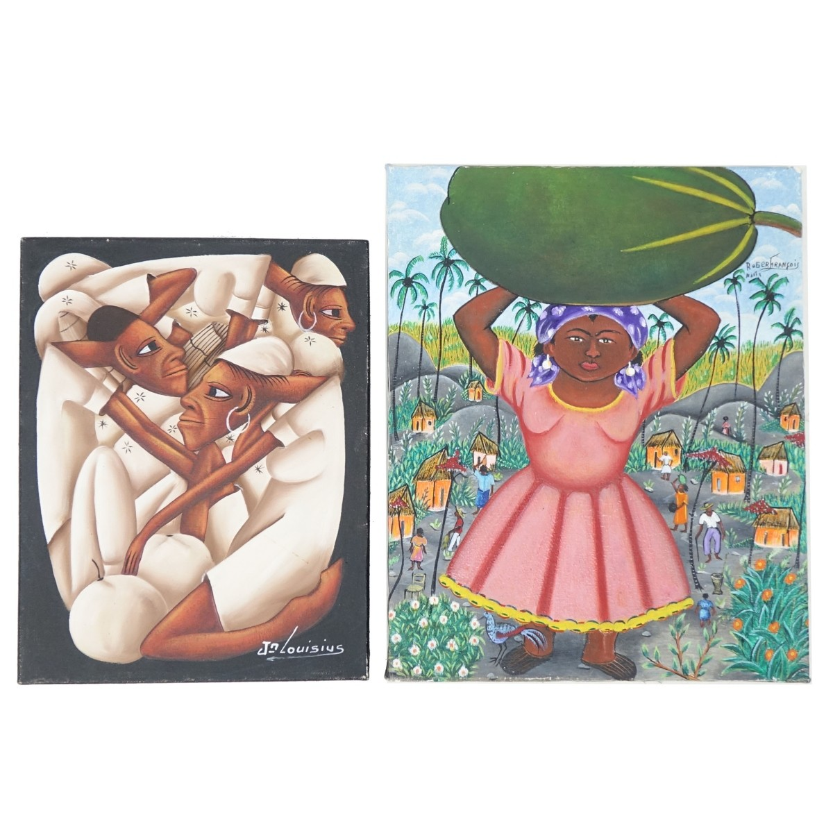 Roger Francois and Jean Bruno Louisius Paintings