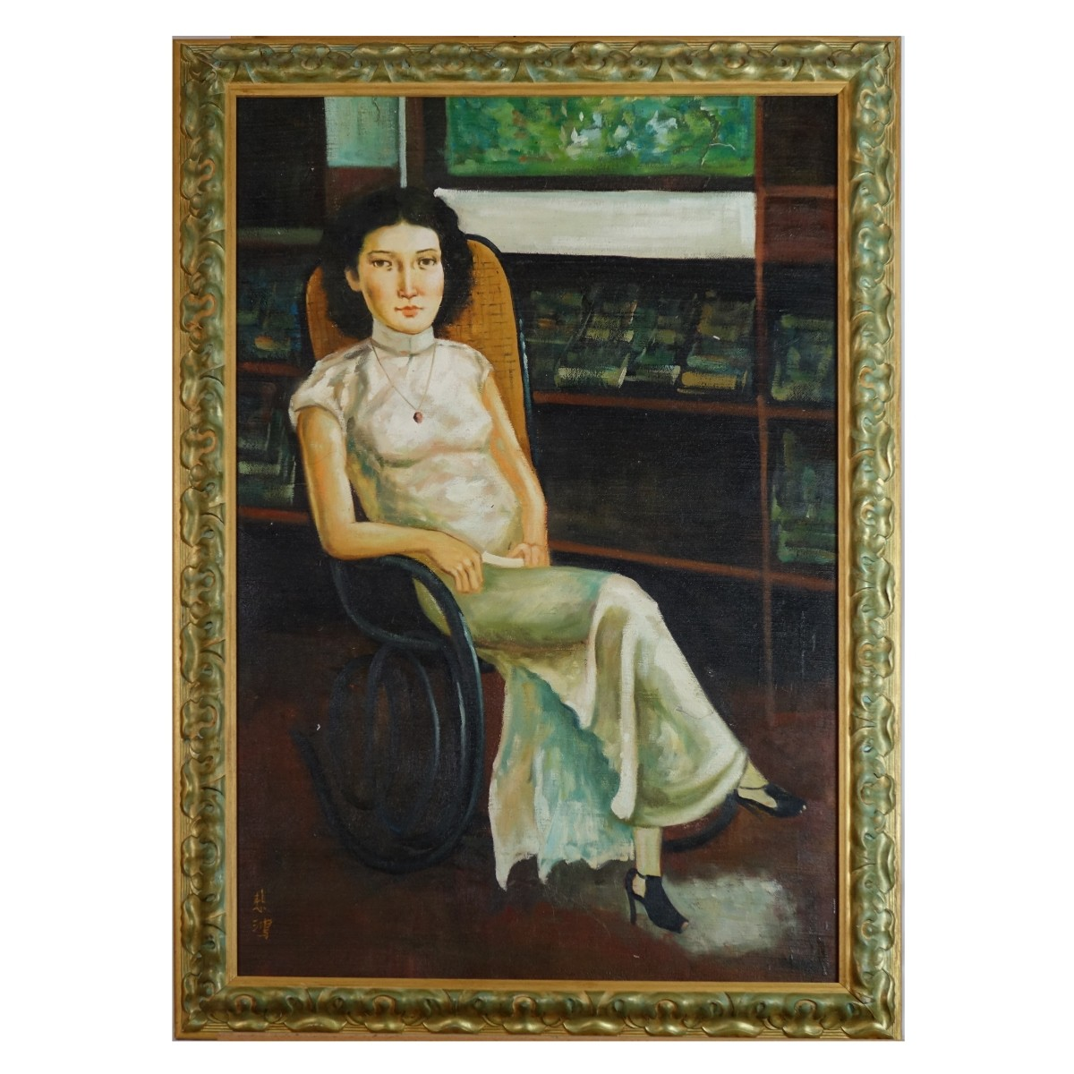 20th C. Chinese School Oil on Canvas