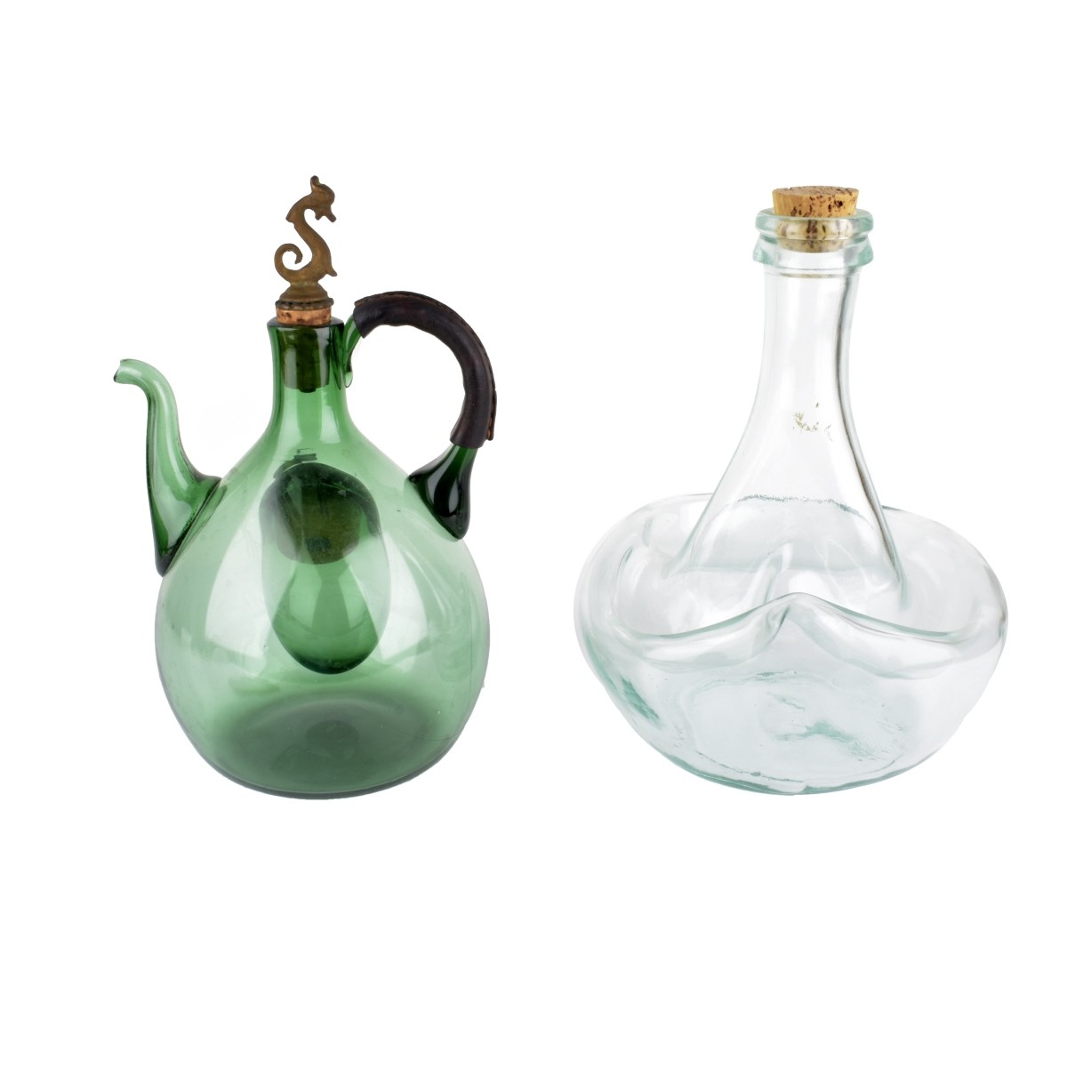 Vintage Art Glass Decanters
