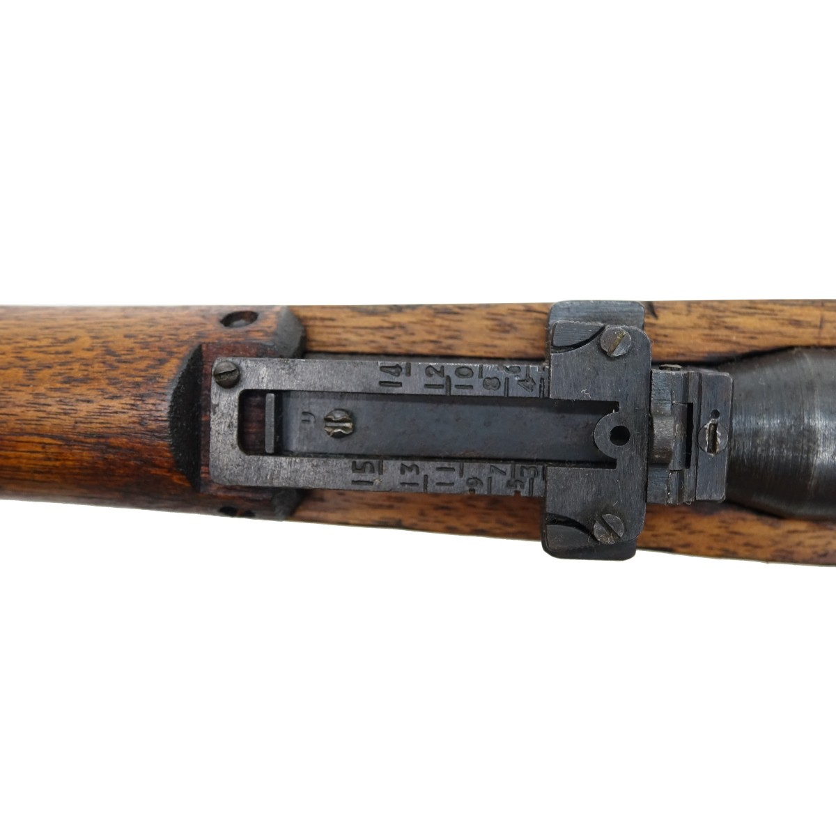 Japanese WWII Rifle with Bayonet and Knife