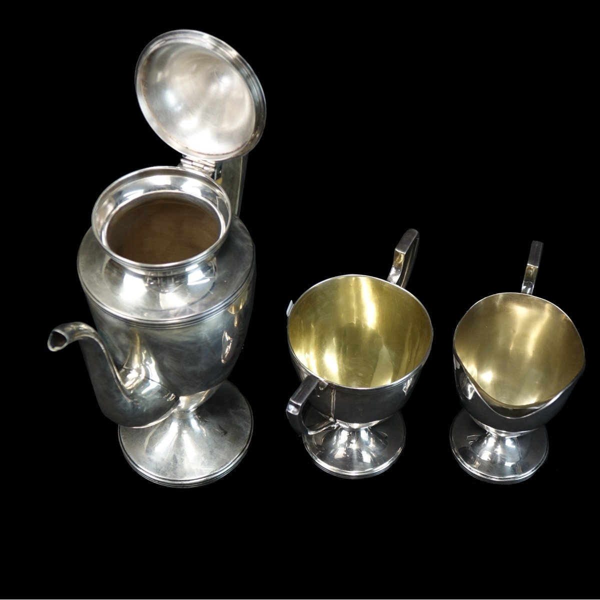 Woodside 3 Pc Coffee Set