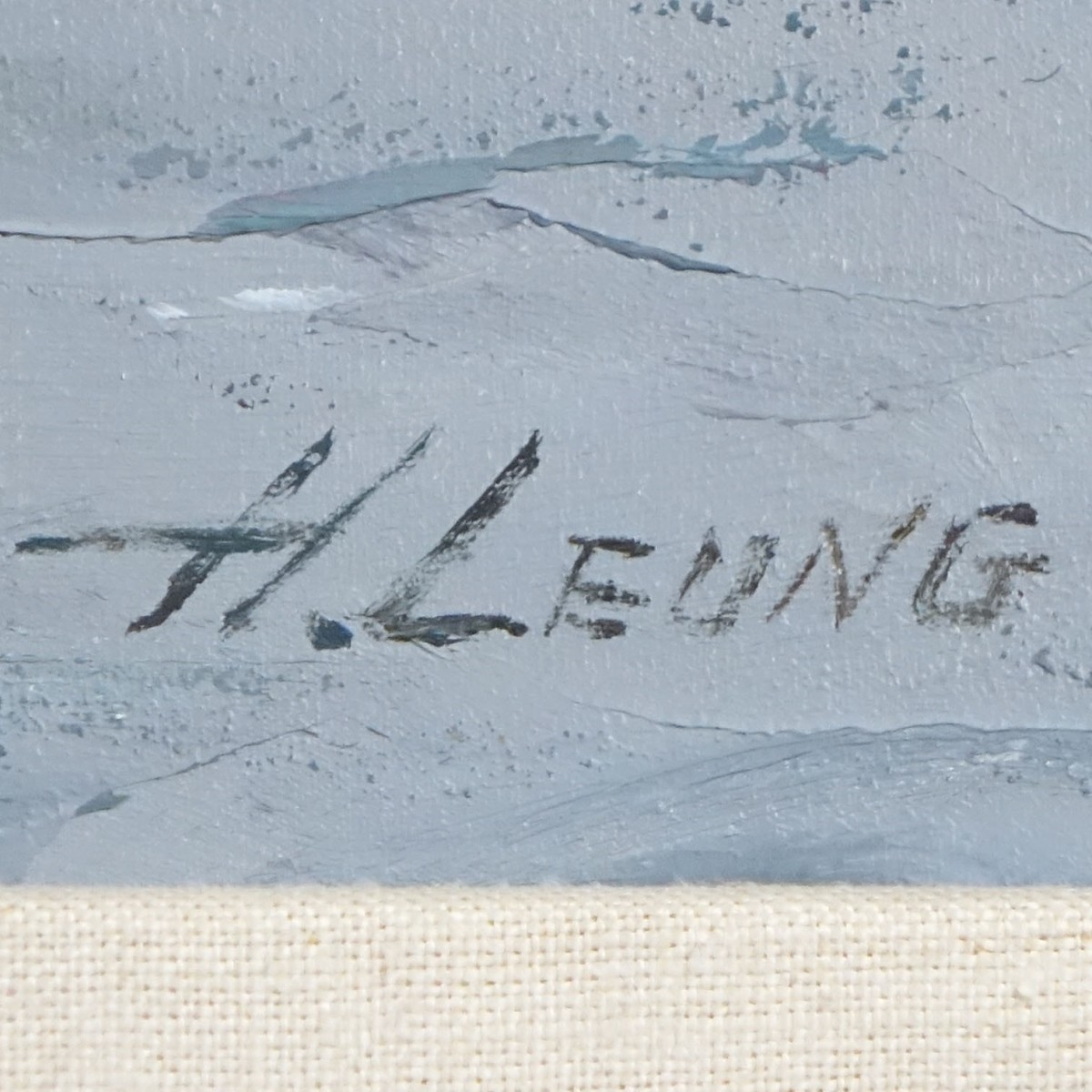 Hong Leung, Chinese (Born 1933)