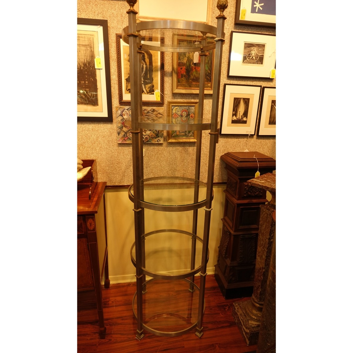 Style of Billy Baldwin Etagere