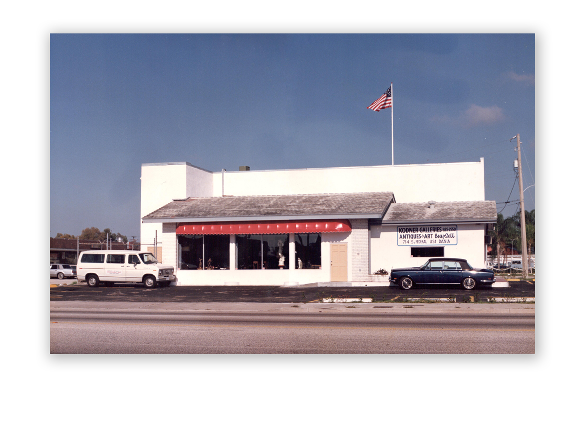 1980's: Kodner Galleries in the 1980's.